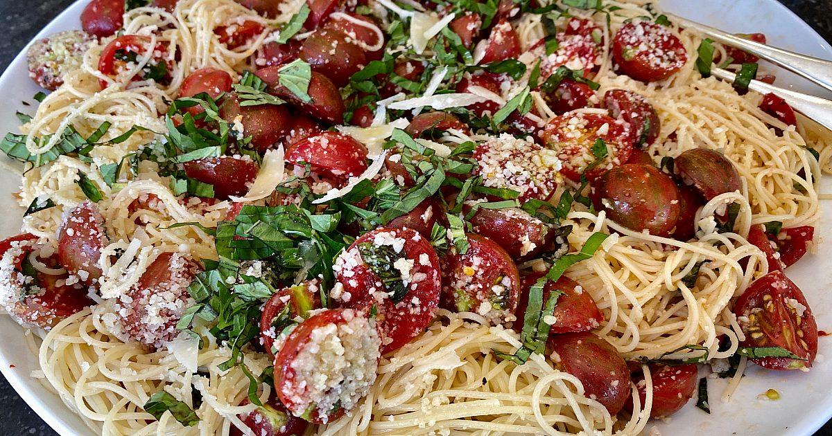Summer Garden Pasta | Recipes