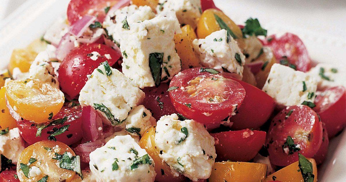 Tomato Feta Salad | Recipes